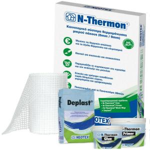 N-THERMON πλάκες θερμομονωτικές Depron 6mm