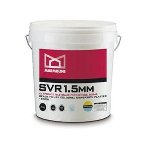 Εγχρωμος παστώδης ρητινούχος σοβάς θερμοπρόσοψης  MARMOLINE SVR 1.5mm