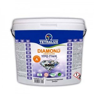 Tetralux υγρό γυαλί Α+Β Diamond liquid glass 2lt