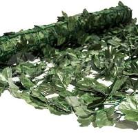 Φυλλωσιά συνθετική σε πλέγμα πράσινο σκούρο 100(Y) x 300cm