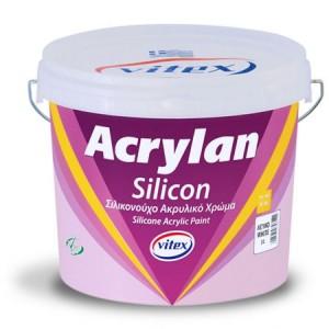 Σιλικονούχο ακρυλικό Acrylan silicon 09lit