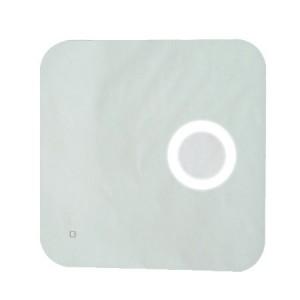 Καθρέπτης με μεγεθυντικό φακό LED 60x60