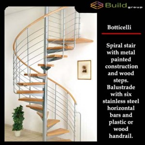 Σκάλες εσωτερικού χώρου Botticelli