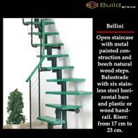 Σκάλες εσωτερικού χώρου Bellini