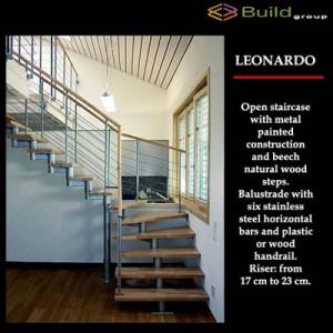 Σκάλες εσωτερικού χώρου Leonardo A