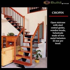 Σκάλες εσωτερικού χώρου Chopin plus