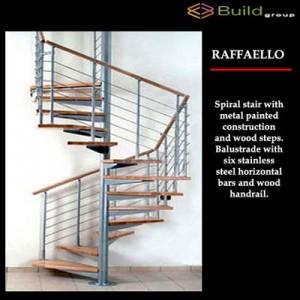 Σκάλες εσωτερικού χώρου Raffaello
